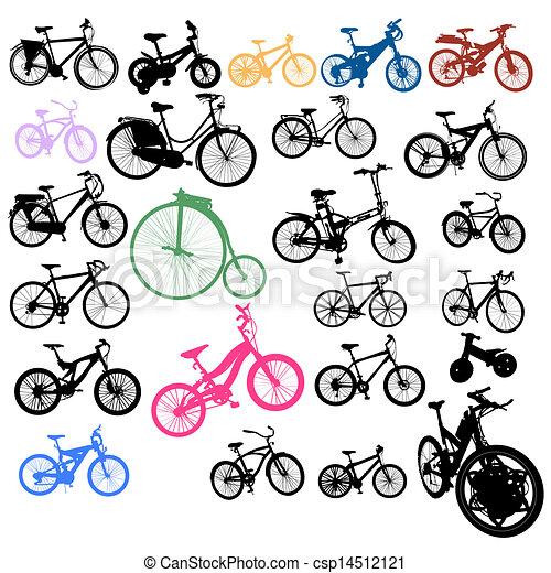 Set of bikes - csp14512121