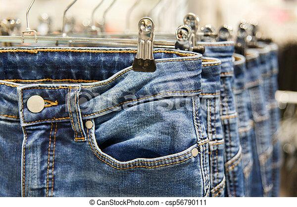 Set of blue jeans - csp56790111