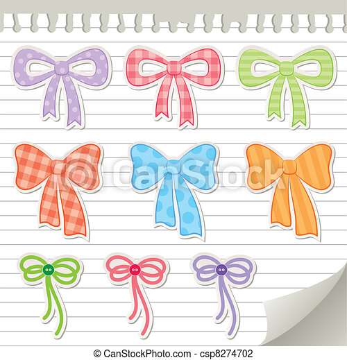 set of bows - csp8274702