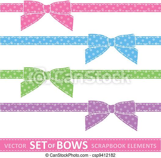 set of bows - csp9412182