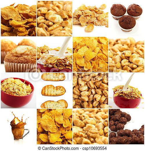 Set Of Breakfast Food - csp10693554