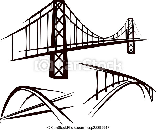 set of bridges - csp22389947