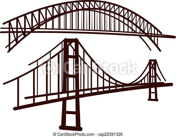 set of bridges - csp22391326