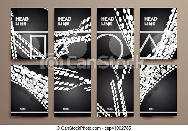 Line Art Poster Design : Word autumn geometric stripy line art poster in yellow orange