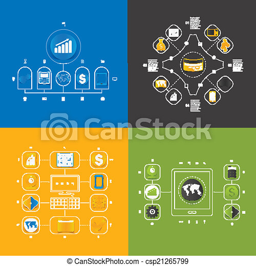 Set of business icons - csp21265799