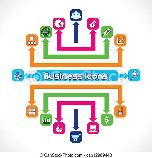 Set of Business Icons - csp12989443