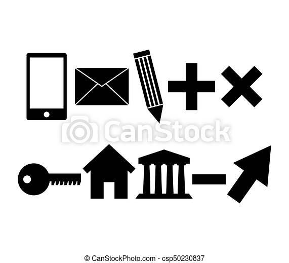 set of business icons - csp50230837