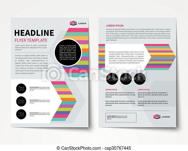 Set of business magazine cover flyer brochure flat design eps set of business magazine cover flyer brochure flat design templates csp30767445 cheaphphosting Images
