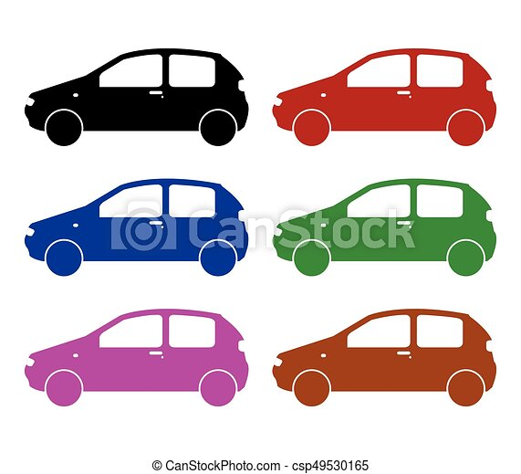 set of cars - csp49530165