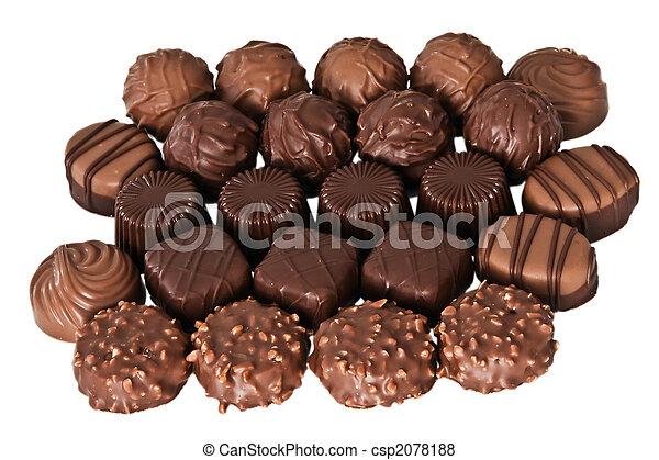 Set of chocolates - csp2078188