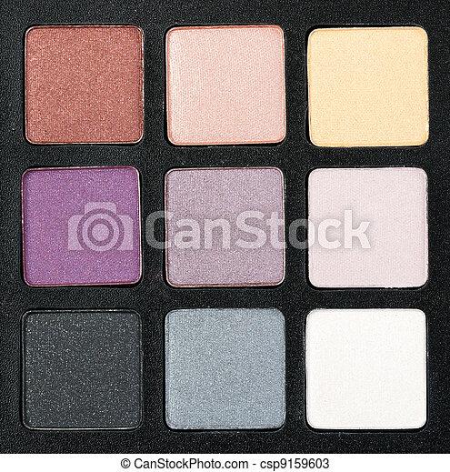 set of colored powder - csp9159603