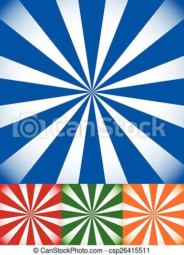 set of colorful sunburst starburst backgrounds with vector clip rh canstockphoto co uk sunburst vector png sunburst vector free download