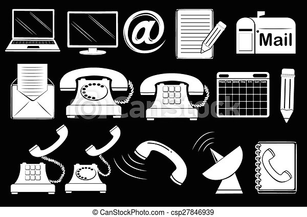 Set of communication tools - csp27846939