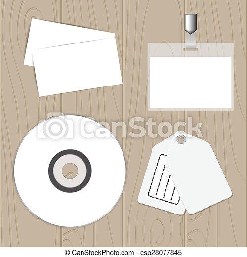 Set of corporate identity templates - csp28077845
