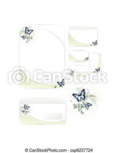 set of corporate identity templates  - csp6237724