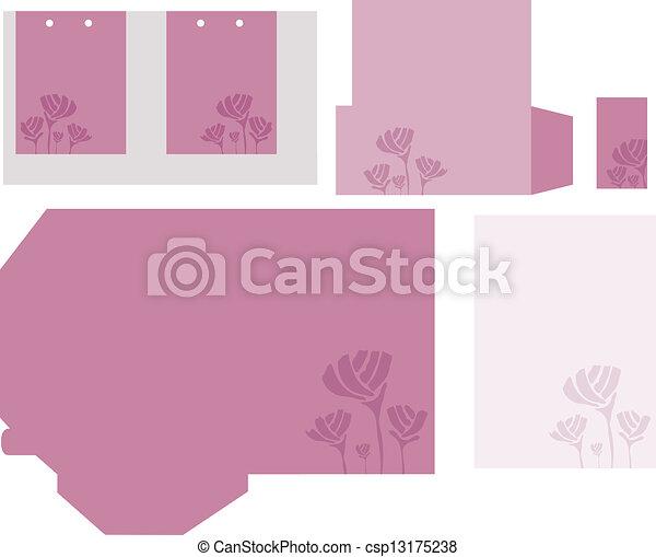 Set of corporate identity templates - csp13175238