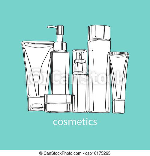 set of cosmetics - csp16175265