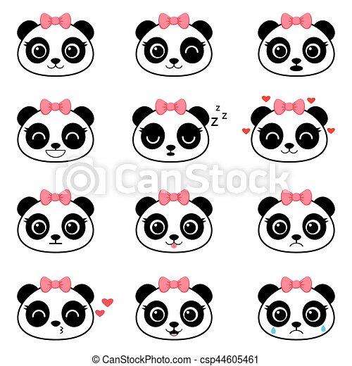 Pixel Art Panda Mignon