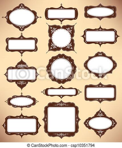 set of design elements - csp10351794