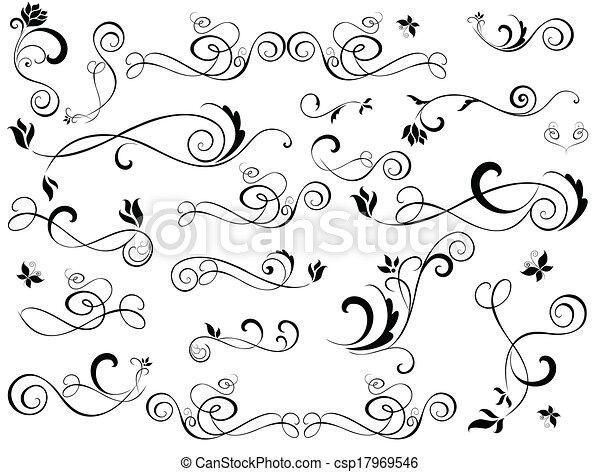 Set of design elements - csp17969546