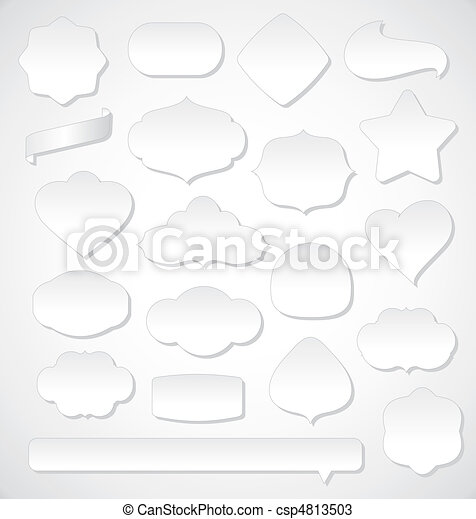 set of design elements - csp4813503