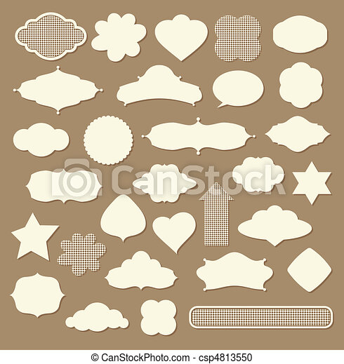 set of design elements - csp4813550