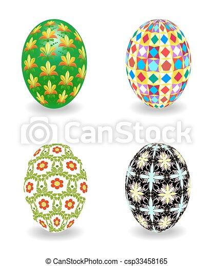 Set of Easter egg - csp33458165