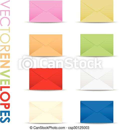 set of envelopes - csp30125003