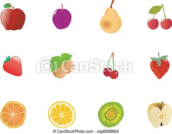 Set of fruits - csp6568664