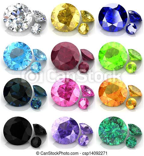 Set of gems - csp14092271