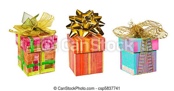 Set of gifts - csp5837741