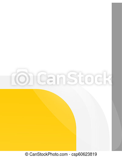 Set of Glossy banner, glass banner vector - csp60623819