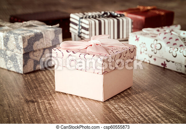 Set of holiday gifts - csp60555873
