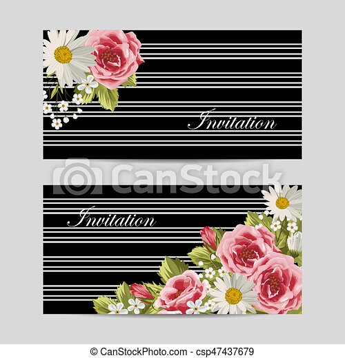 Set of horizontal banners - csp47437679