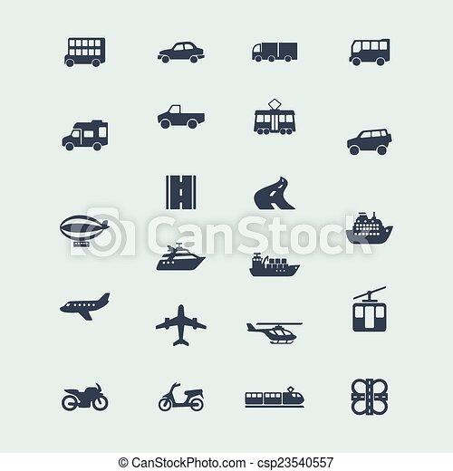Set of icons - csp23540557