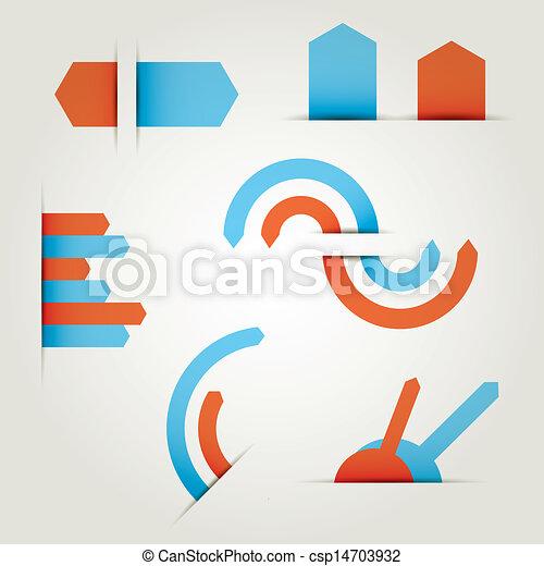 set of icons vector arrows - csp14703932
