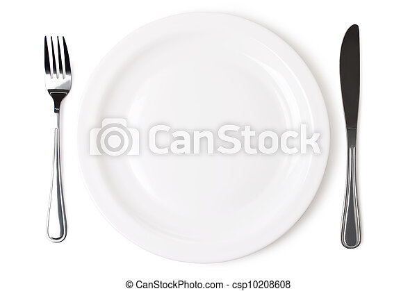 Set of kitchen object  on a white background. The file includes a excellent clipping path - csp10208608