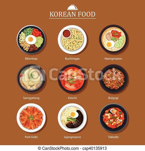 Korean Restaurant Logo