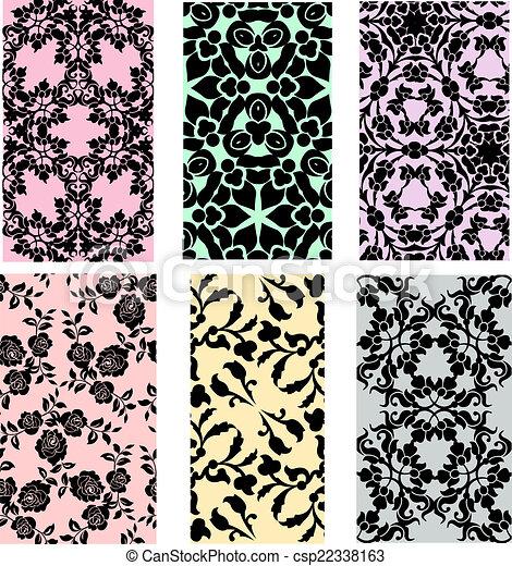 Set of lace - csp22338163