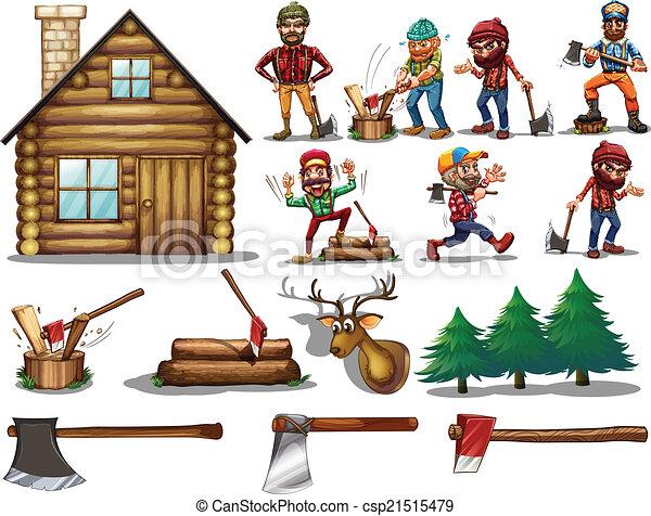 set of lumber - csp21515479