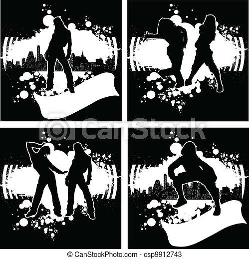 Hip Hop Silhouette Vector Clip Art Eps Images 2023 Hip Hop