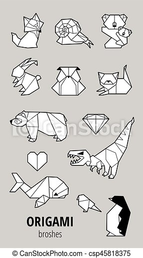 Origami Set - Dinosaur - ShopperBoard | 470x258