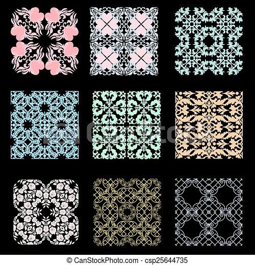 Set of patterns - csp25644735
