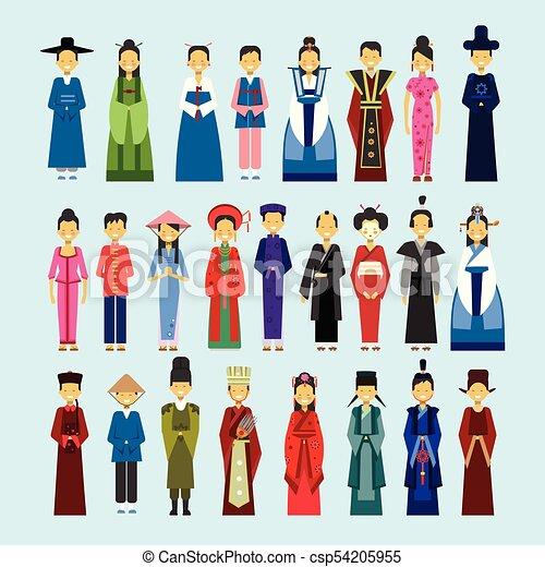 Asian clothing clip art pics 321