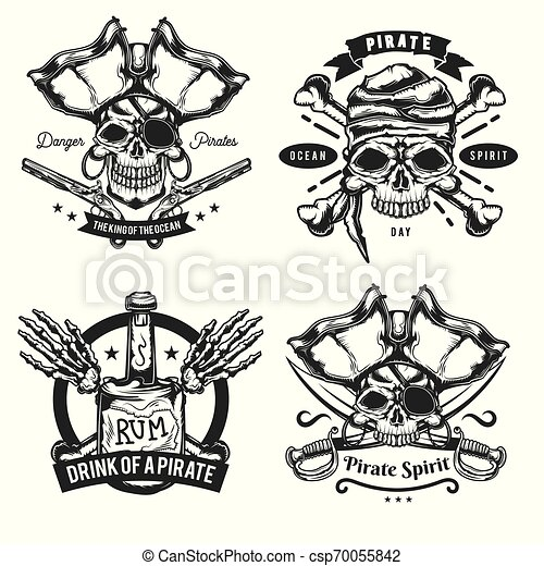 Set of pirat elements - csp70055842