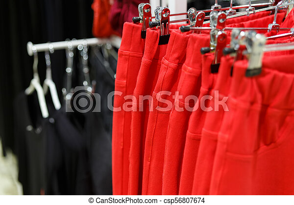 Set of red jeans - csp56807674