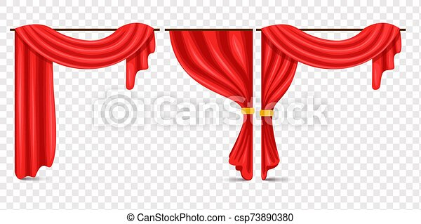 Transparent Red Stage Curtains - Red Velvet Curtains Png, Cliparts &  Cartoons - Jing.fm