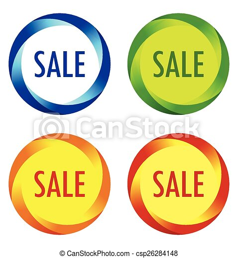 Set of Sale labels  - csp26284148