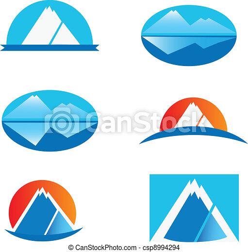 Burton Mountain Logo Vector