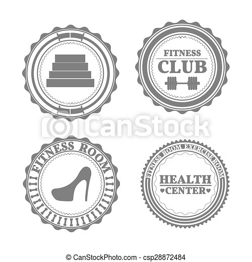 Set of sports emblems - csp28872484